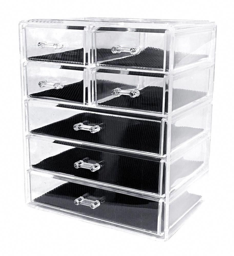 Makeup And Jewelry storage Beautify Large Clear Acrylic