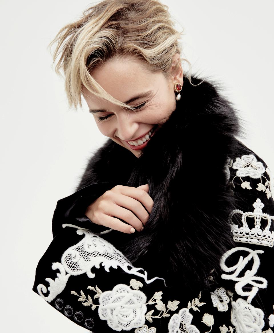 Emilia Clarke - Io Donna Magazine July 2015 Issue • CelebMafia