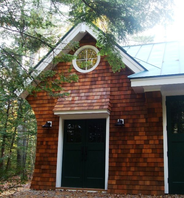 Best New England Barn Co Love The Combo Of Dark Green Roof 400 x 300