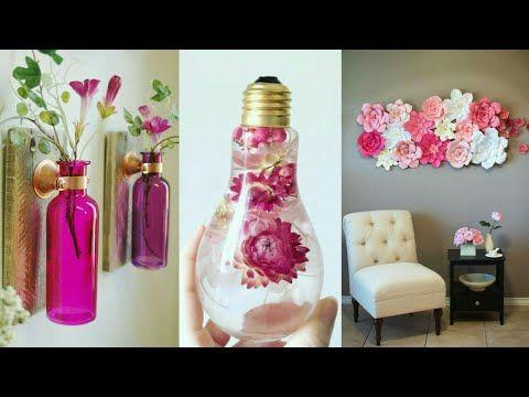 DIY ROOM DECOR! 10 Easy Crafts Ideas at Home