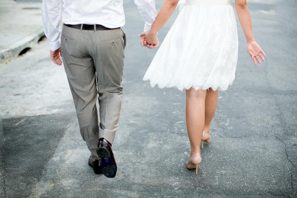 o casório da Aline ♥_♥  foto Daniela Leme    vestido Audrey (curto, customizado)