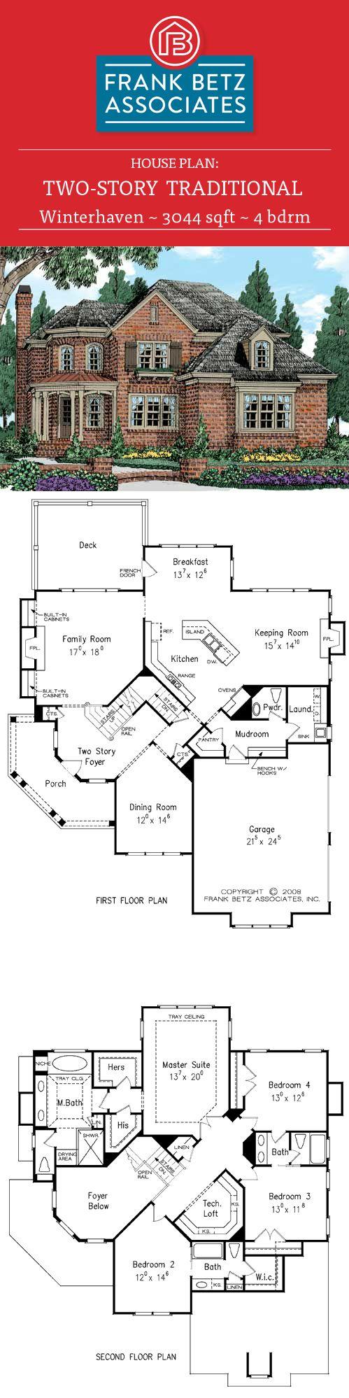WINTERHAVEN House Floor Plan