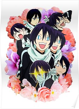 Yato and co Poster iphone case