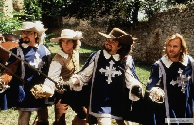 Oliver Platt Musketeers The Three Musketeers 1...