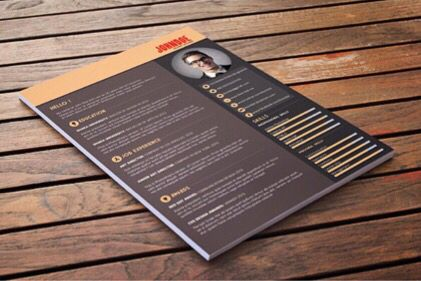 Creative Resumes And How To Do Them Well Uga Career Center Blog Free Resume Template Download Free Printable Resume Templates Resume Template Free
