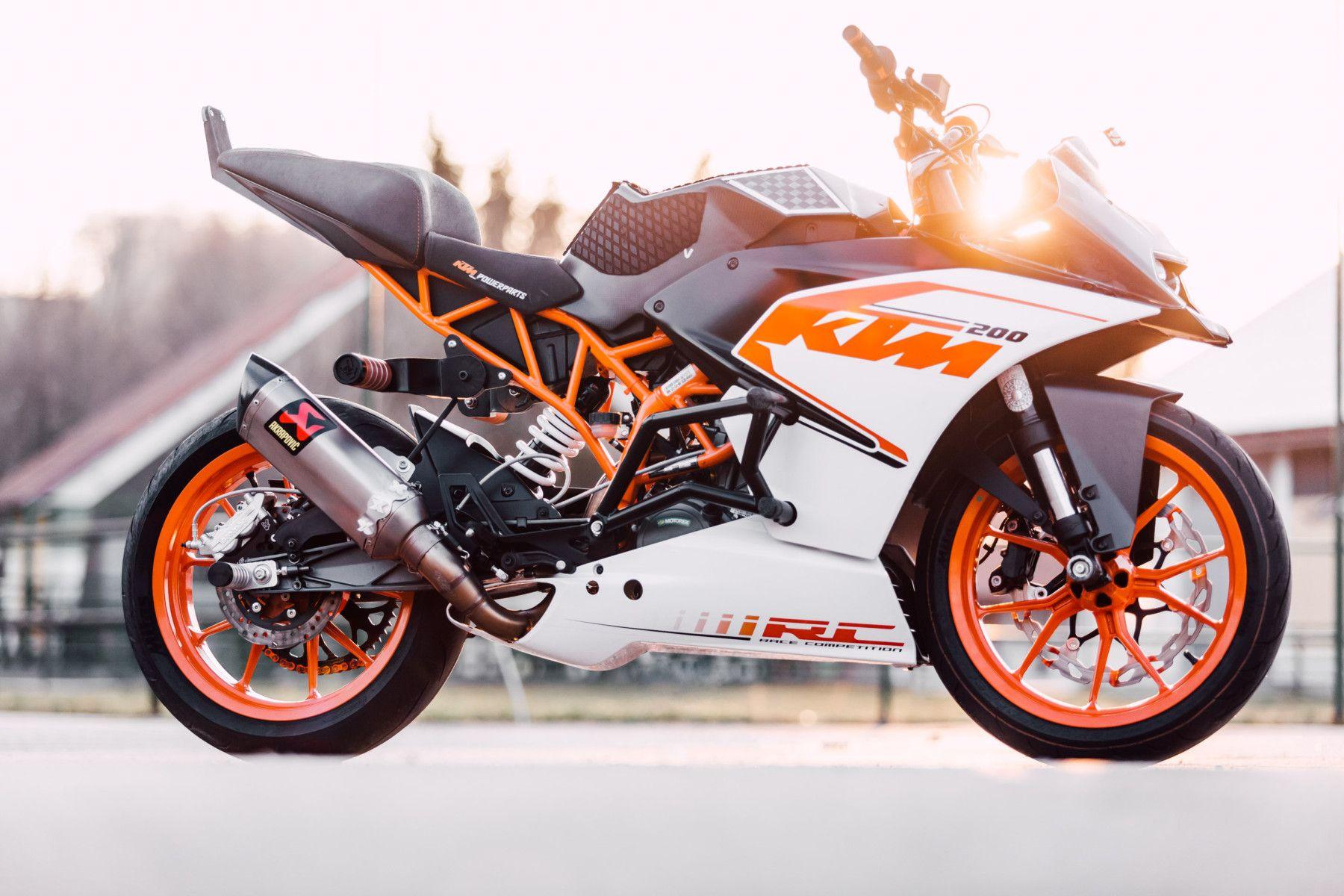 Ktm Rc200 Stunt Bike Stunt Bike Ktm Stunts
