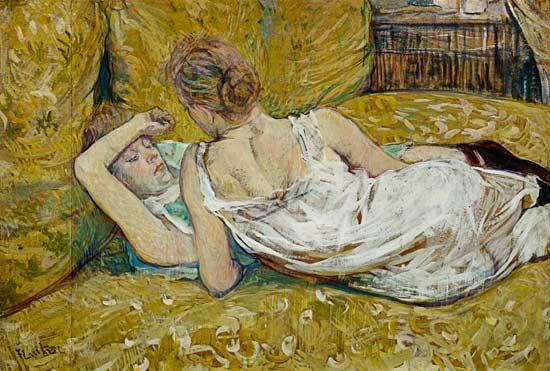 Henri de Toulouse-Lautrec - Les deux amies
