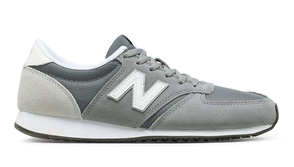 nouveau style fb0c4 dcd4b 420 New Balance, Gunmetal with White & Silver Mink | wish ...