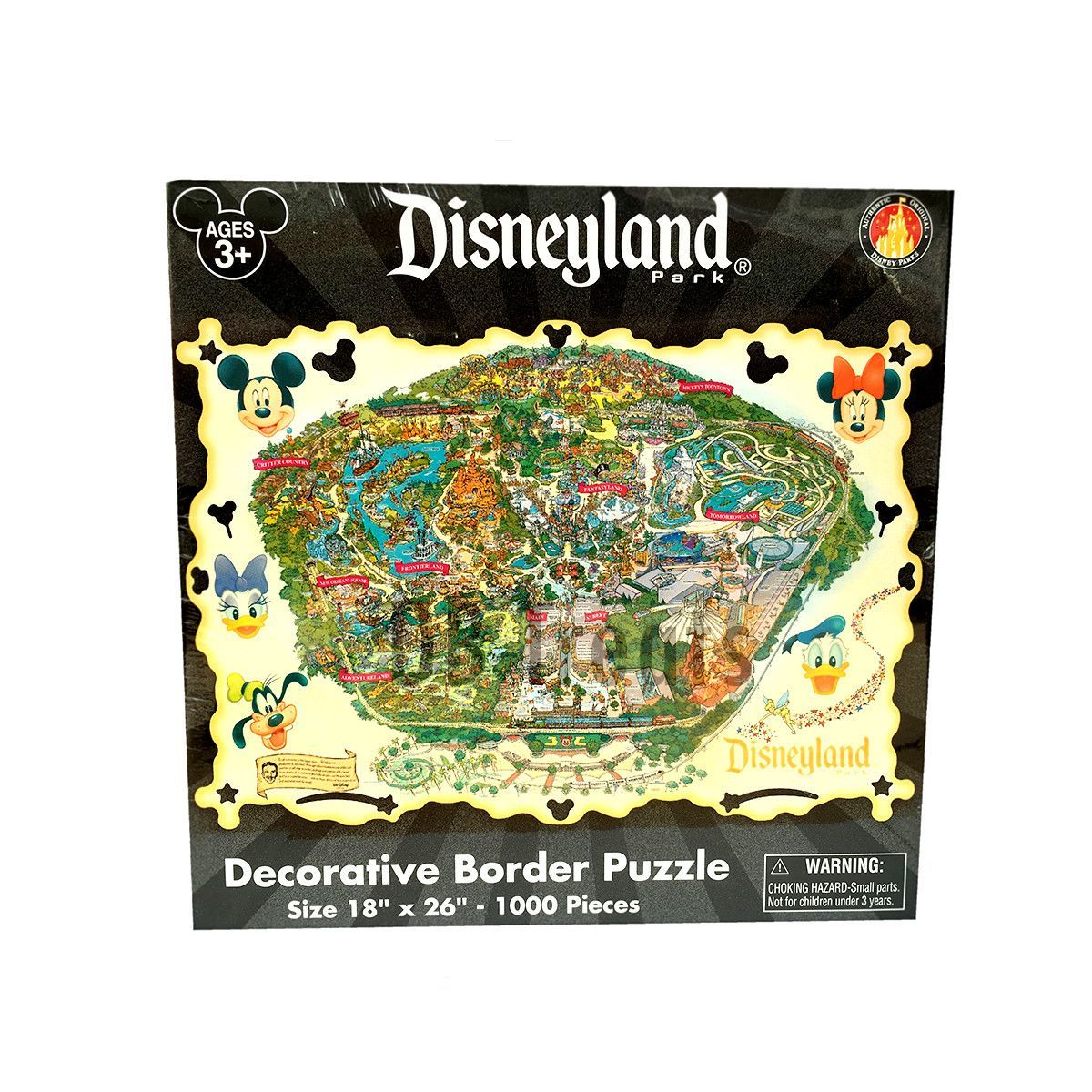 Disneyland theme park map 1000 piece jigsaw puzzle puzzles disneyland theme park map 1000 piece jigsaw puzzle gumiabroncs Image collections