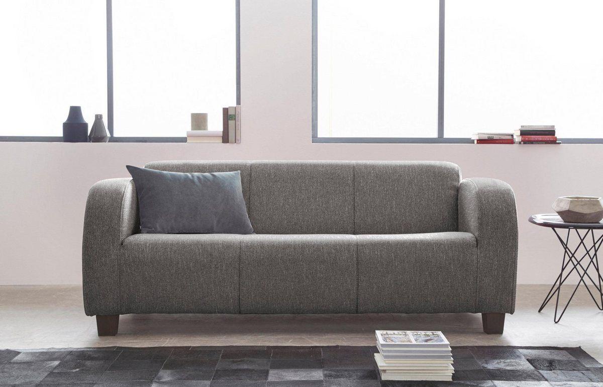 Inosign 3 Sitzer Cuba Mit Geschwungenen Armlehnen Online Kaufen Haus Deko Sofas 3 Sitzer Sofa