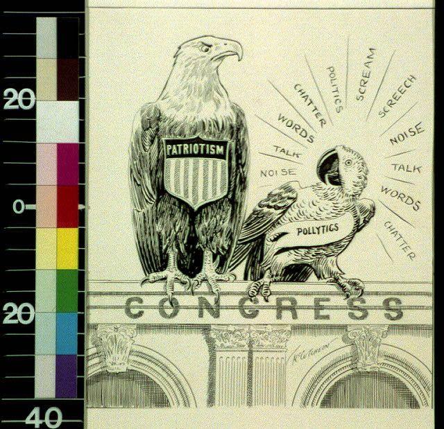 "Dec 4 1917 Chicago Tribune cartoon: ""They won't flock together very long""  By John T McCutcheon #ww1cartoon https://t.co/NBKxZTeRCB https://t.co/qtCjO5Wmqv"