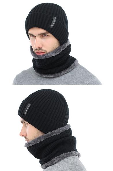32e5b75410e AETRUE Winter Beanies Men Scarf Knitted Hat Caps Mask Gorras Bonnet Warm  Baggy Winter Hats For Men Women Skullies Beanies Hats  fashion  shopping   style ...