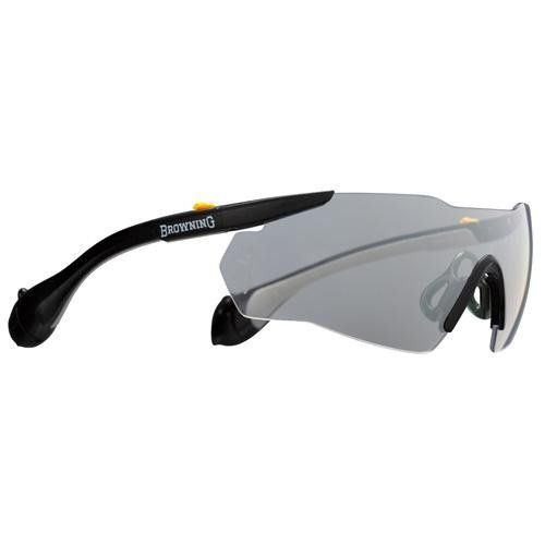 Sound Shield, Indoor-Outdoor Shooting Glasses - Men's, Large, Clear