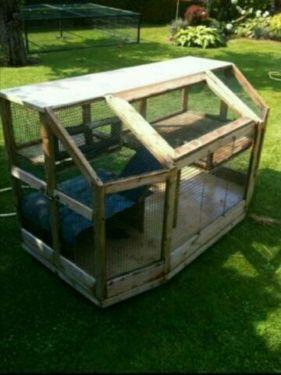 Nager Kaninchen Meerschweinchen Käfig stall gehege
