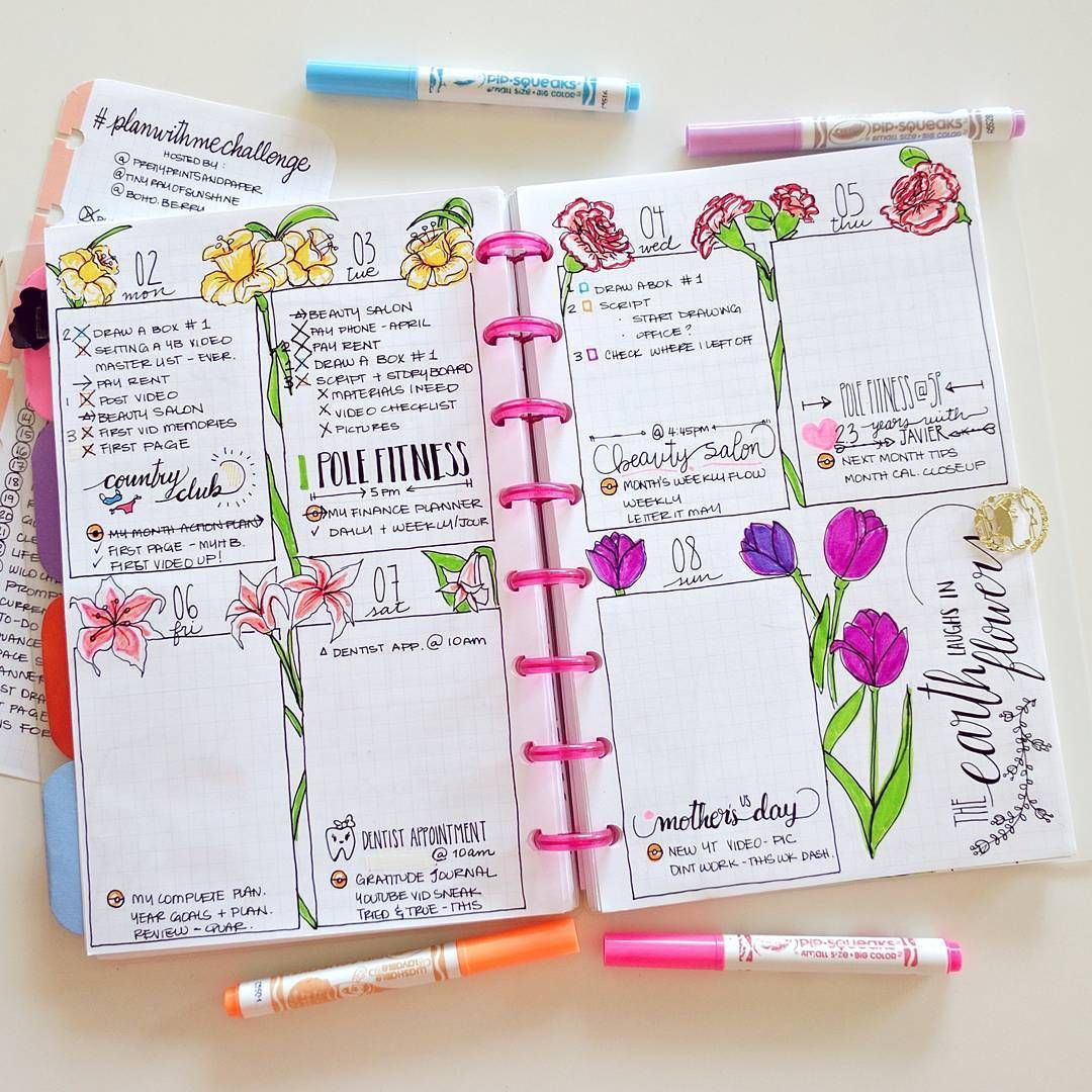 Inspiration Design: 24 Pretty Bullet Journals To Inspire Your Own Design