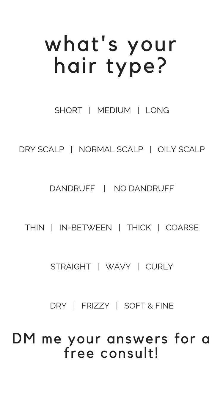 What S Your Hair Type My Monat Monat Monat Hair
