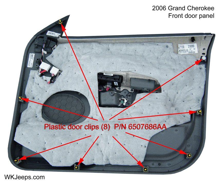 Jeep Grand Cherokee Wk Interior Trim Removal Jeep Grand