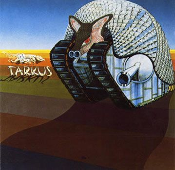 Emerson Lake and Palmer Tarkus. One of the most memorable from the progressive rock era.