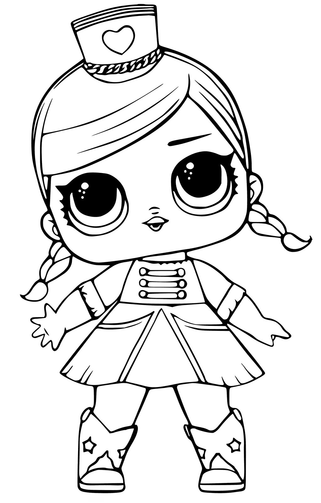Кукла ЛОЛ леди оркестр - Куклы LOL | Раскраски, Детские ...