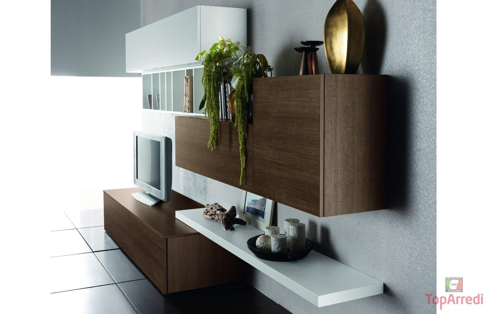 Beautiful Mobili Soggiorno Moderni In Legno Ideas - Design ...
