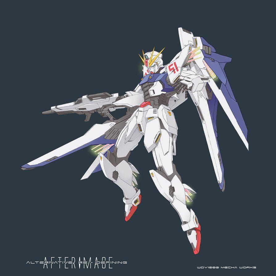 Ard Gundam F91 By Wdy1000 ロボット イラスト ガンダムf91 ガンプラ