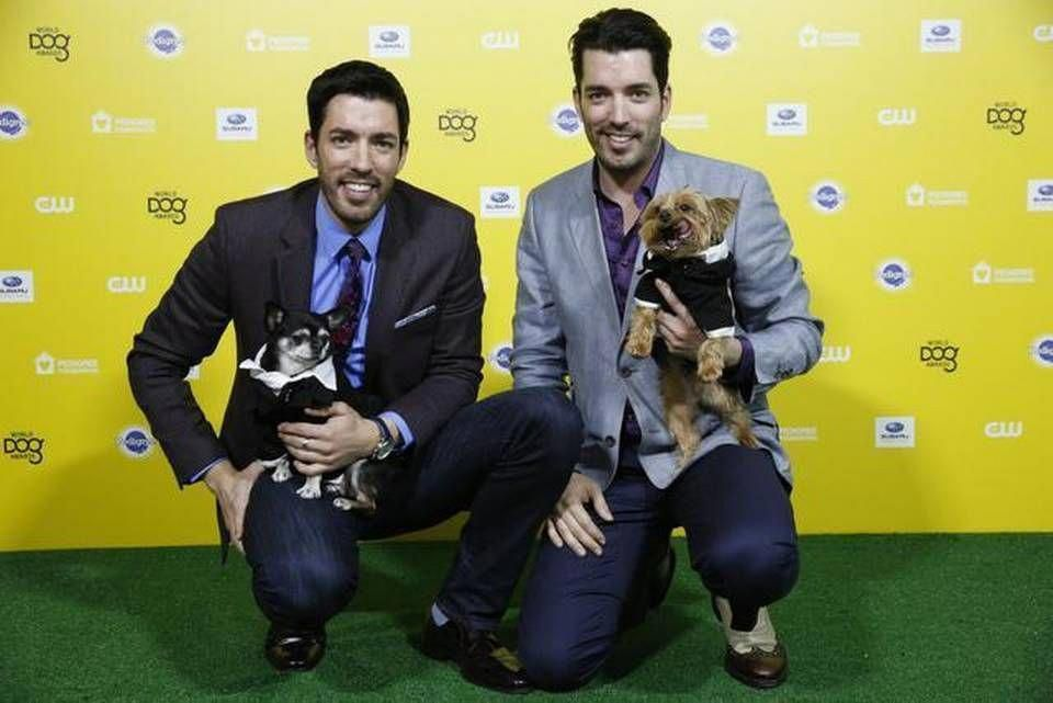 Love this photo of Gracie & Stewie at the 2015 World Dog