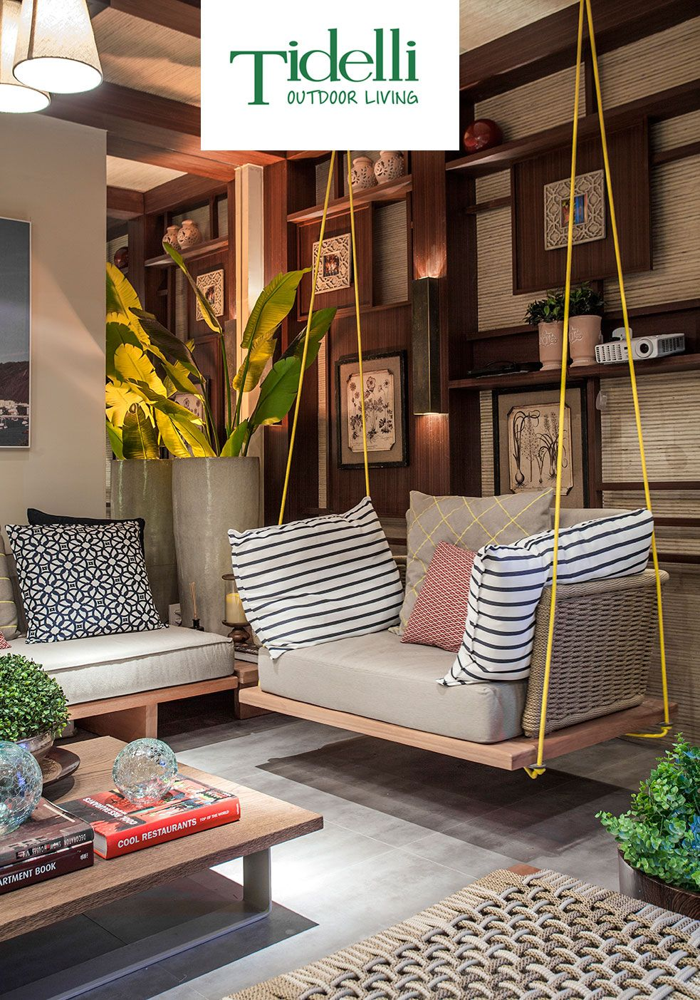 A Different Seating Experience Is Here Home Room Design India Home Decor Home Decor Furniture #wooden #swing #for #living #room #india