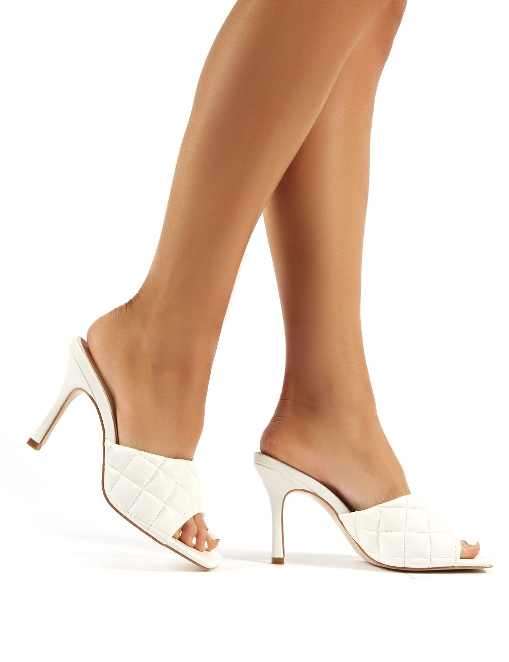 Public desire block heeled mules size 5 in Daventry for £