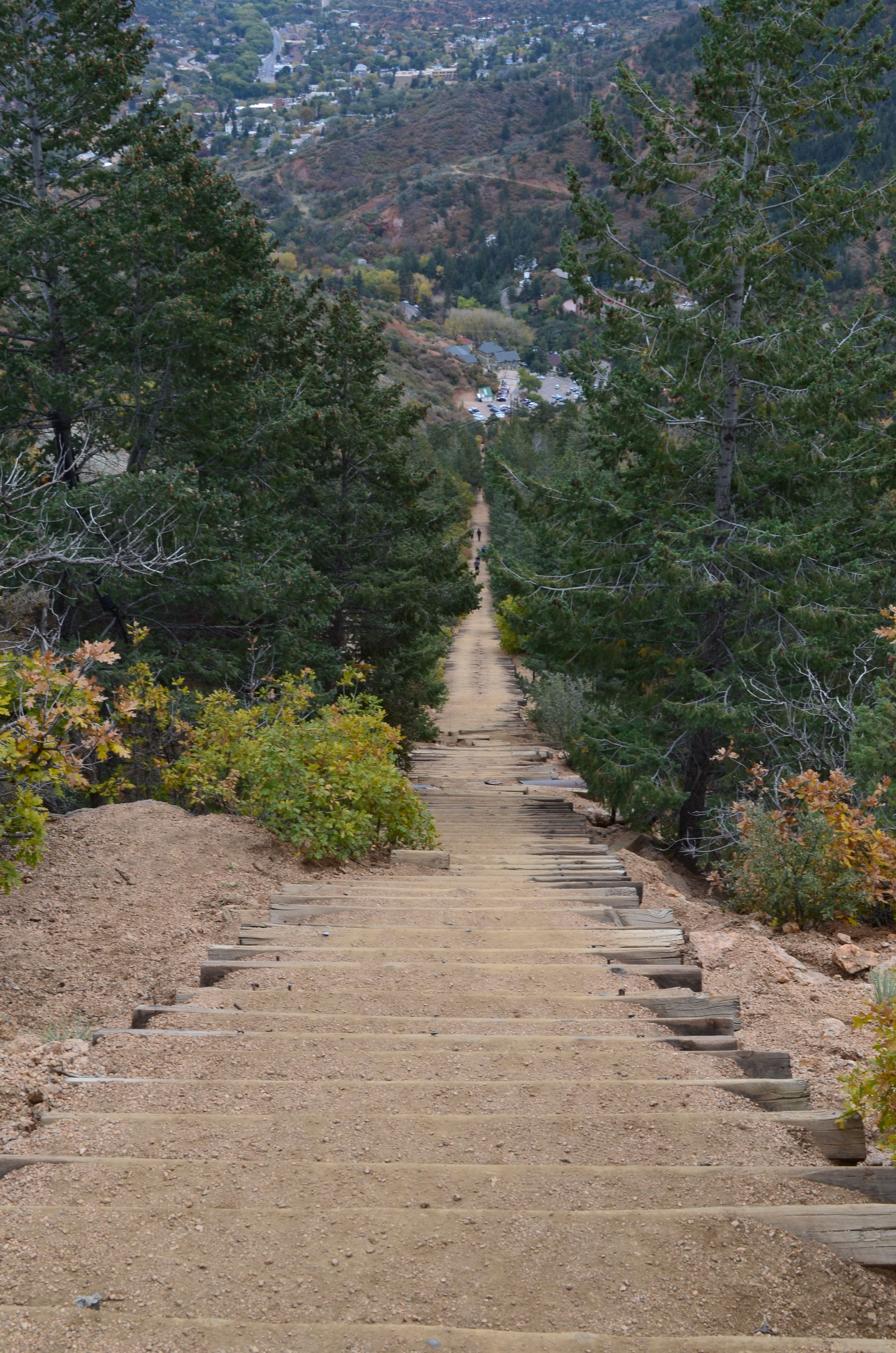 The Incline.  Manitou springs.. soooo fun (: