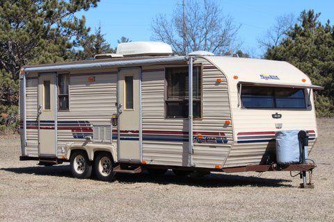 1988 sunline camper travel trailer one owner ~~ no reserve  at Shasta Rvs Wiring Diagram 1988