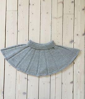 Snurr-Meg-Skjørt / Triple Skirt pattern by Knit Me