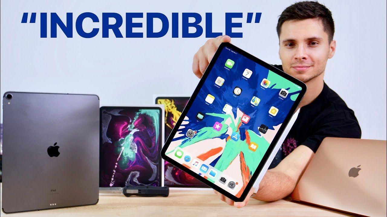 2018 Ipad Pro Unboxing 11 12 9 Inch Macbook Air Apple Pencil 2 Youtube Apple Products Ipad Pro Apple Pencil