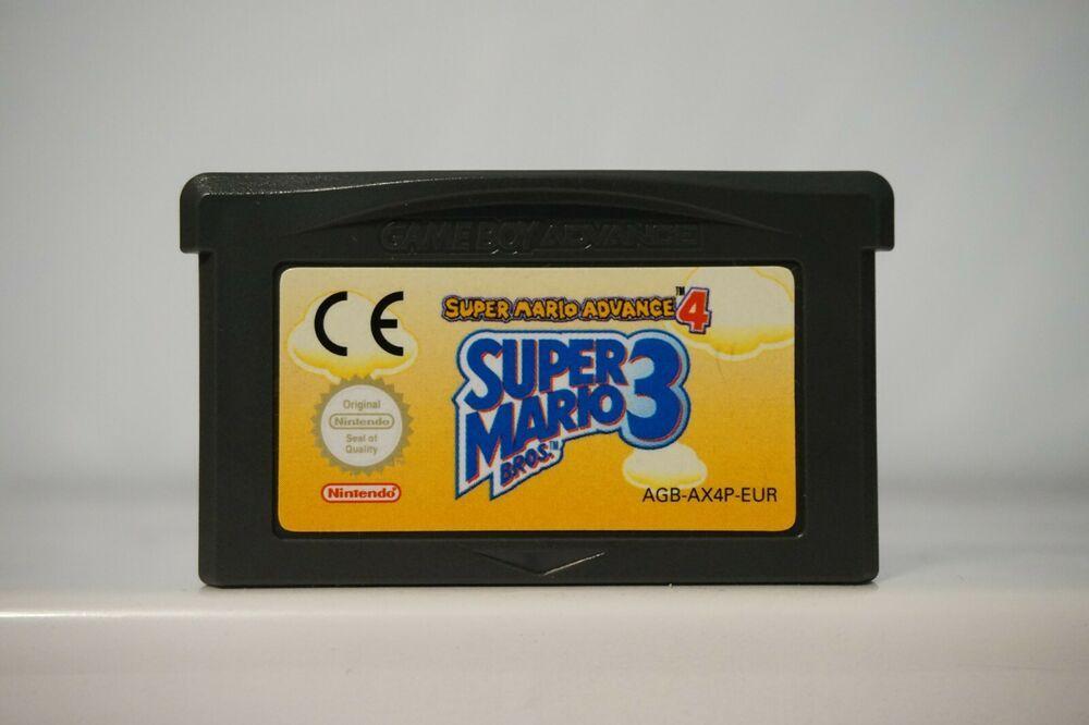 Super Mario Bros 3 Super Mario Advance 4 Nintendo Game Boy Gba