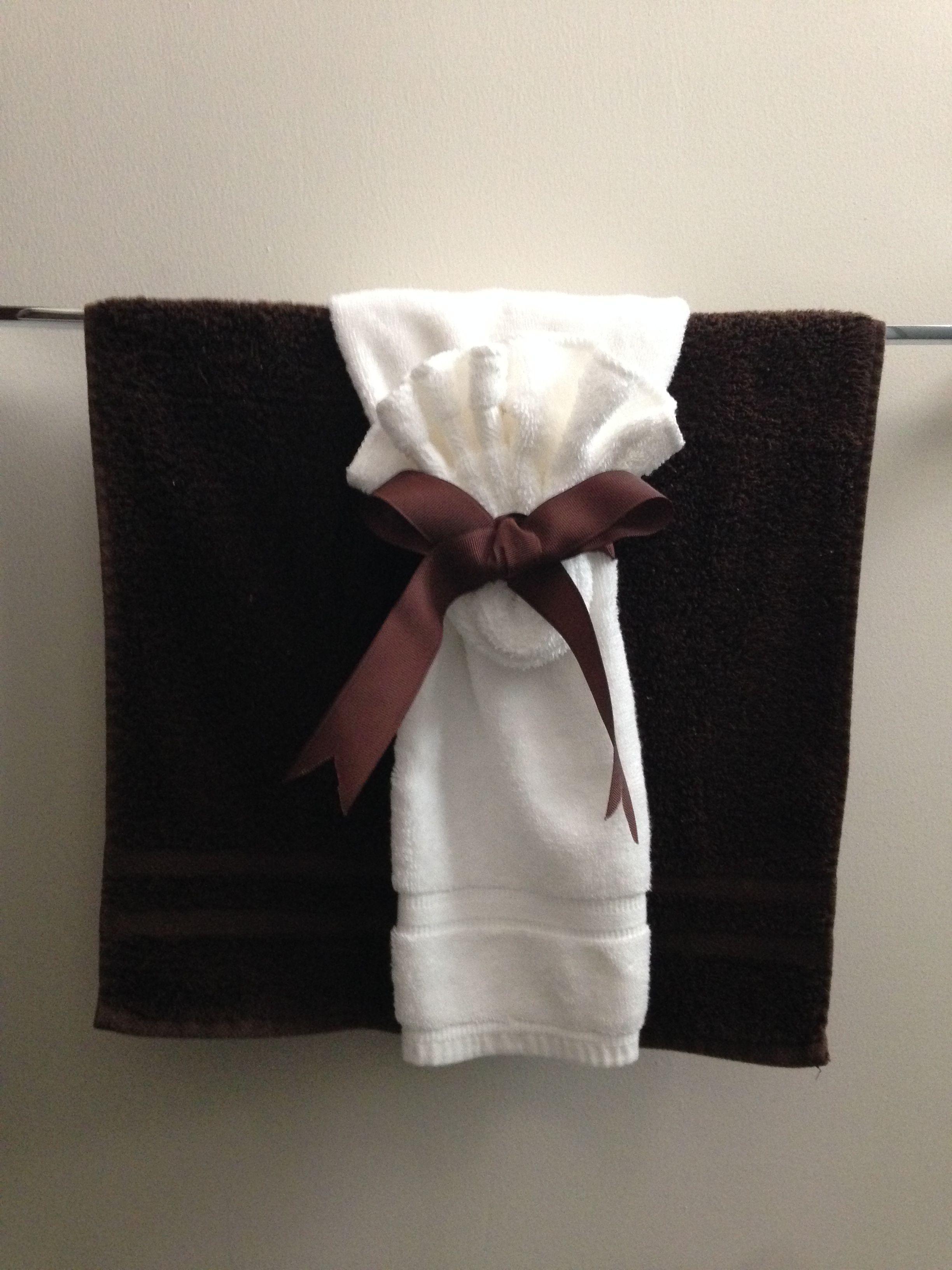 Decoracion con toallas para baños Decoracion de baños   Decoracion ...