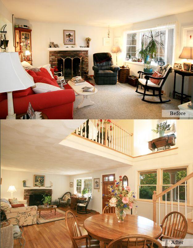 3rd Floor Addition Home Design Ideas Renovations Photos: Interior Home Addition - Adding Second Floor