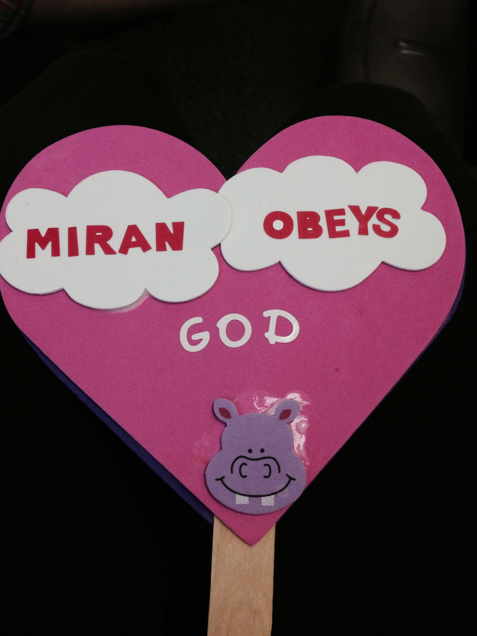 Obey God Crafts With His Friends