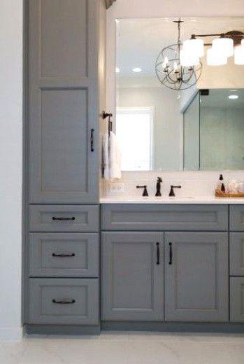 Photo of Master Bathroom with Steam Shower – KBF Design Gallery