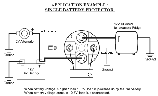 Robust Inexpensive 12v 150 Amp Smart Battery Isolator And Smart Split Charge Relay For Rv Trailer Car A Battery Electronic Schematics Automotive Electrical