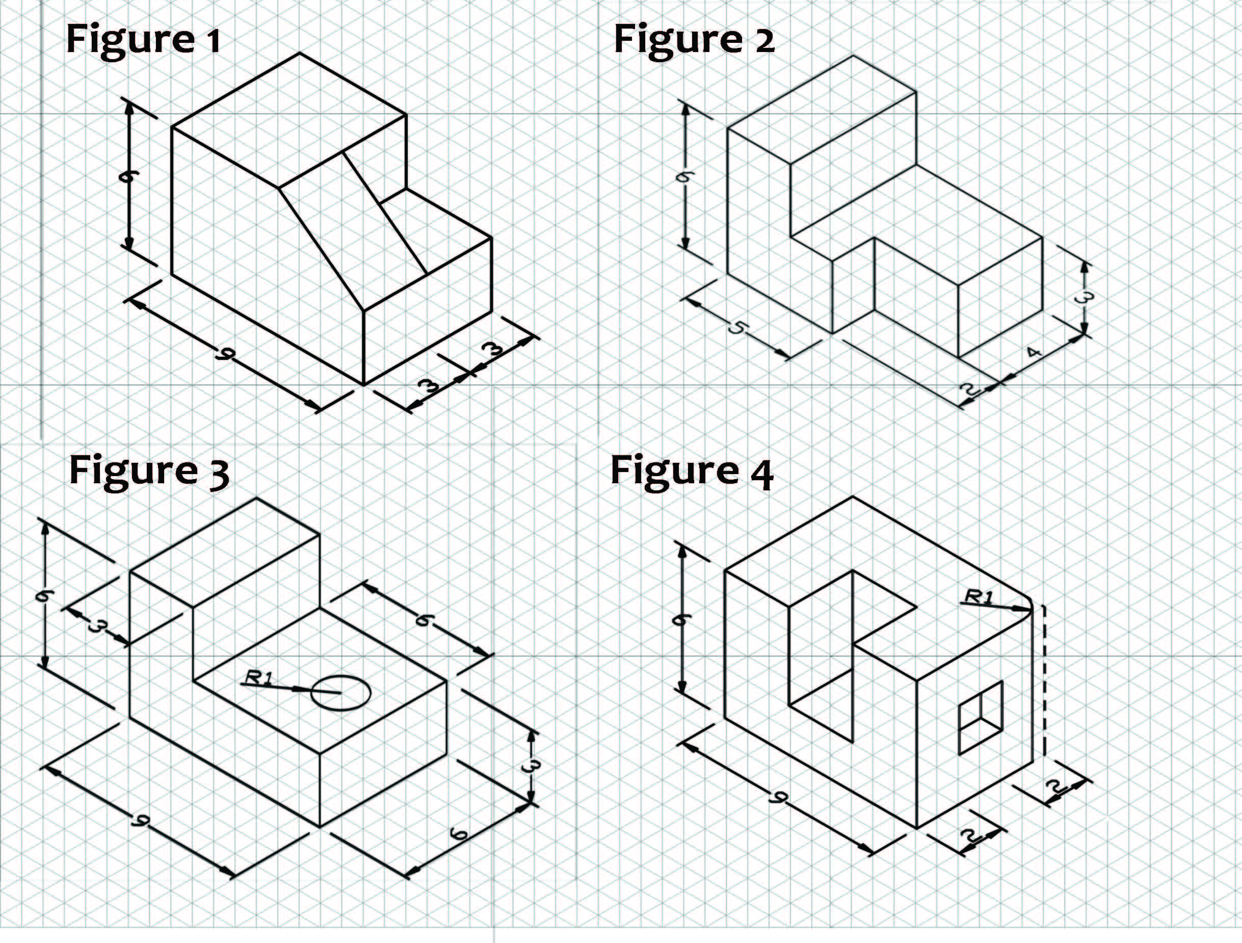 small resolution of Oblique To Isometric Drawings Worksheets   Printable Worksheets and  Activities for Teachers