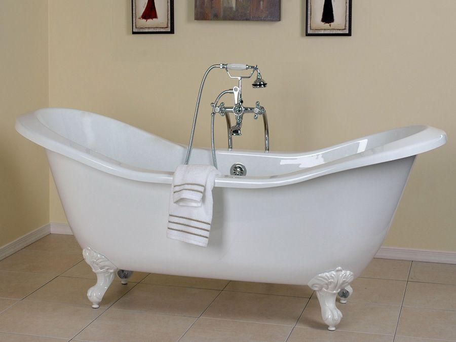 double slipper claw foot tub | The Big Board of Likes | Pinterest ...