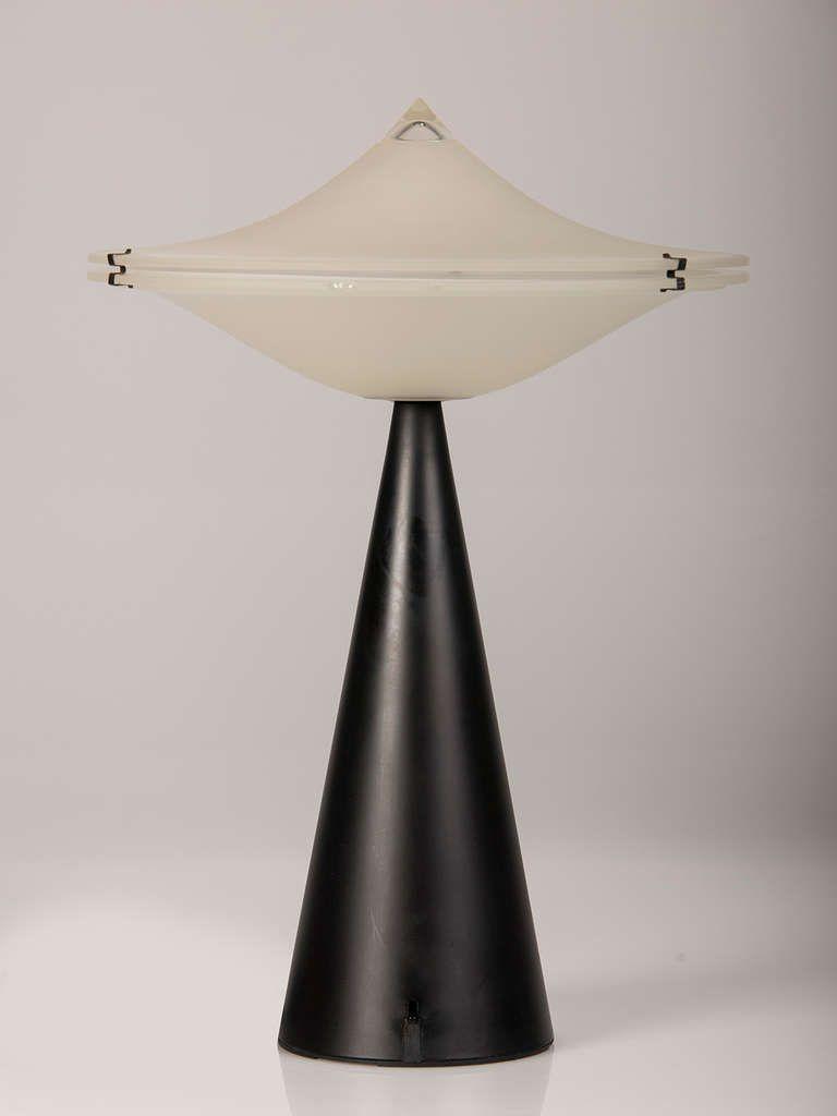 Vintage Italian Tre Ci/Luce Alien Lamps, Designer Cesaro L., circa ...