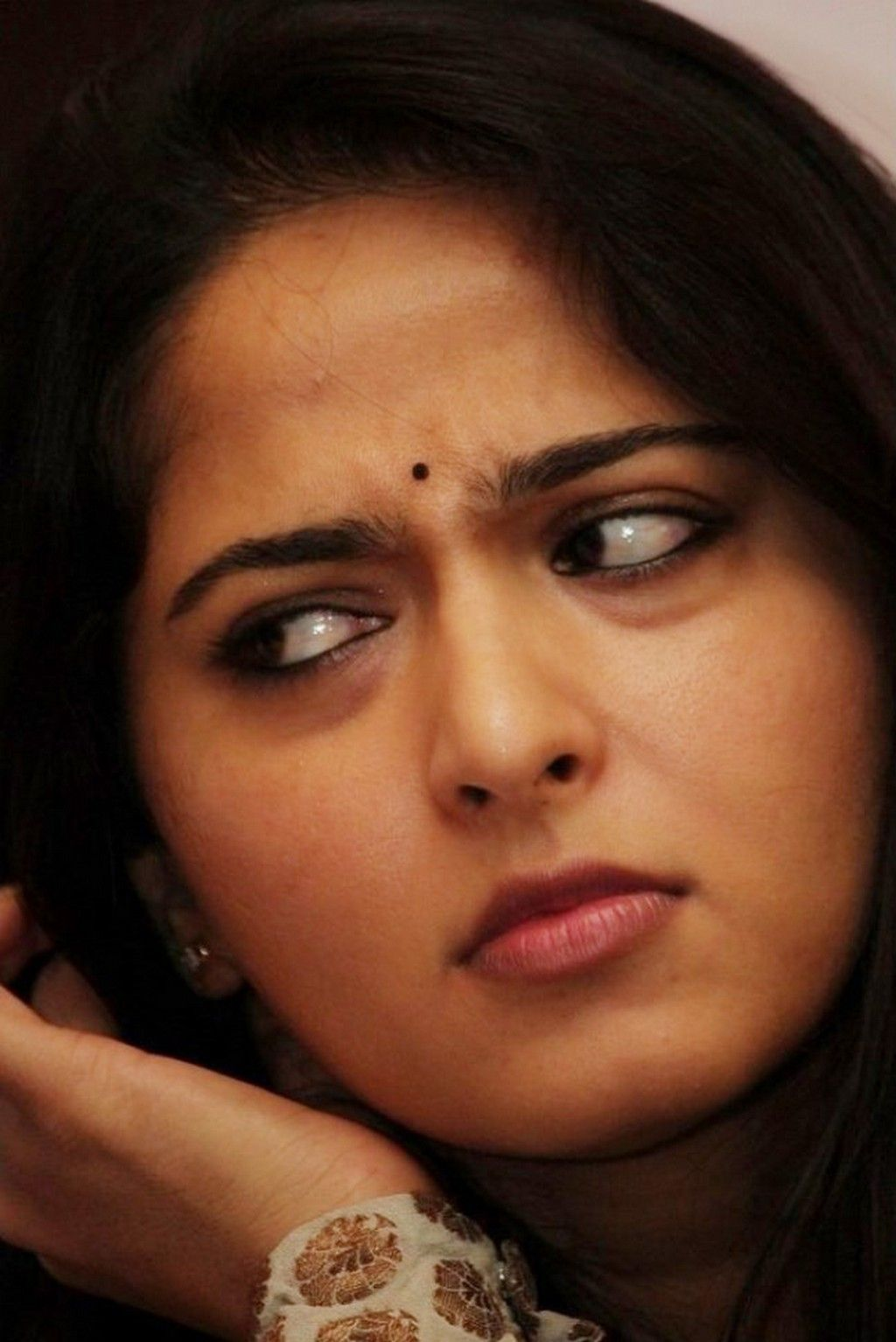 Image result for anushka shetty lips