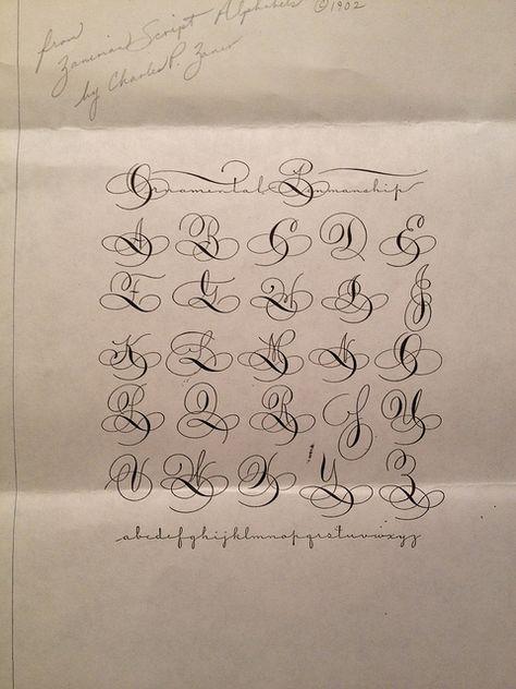 pin von manu ela auf buchstaben kalligraphie alphabet. Black Bedroom Furniture Sets. Home Design Ideas