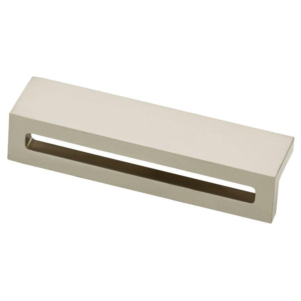 Charmant Liberty Urban Square 3 3/4 In. (96mm) Satin Nickel Cabinet Pull P30951 SN C    The Home Depot