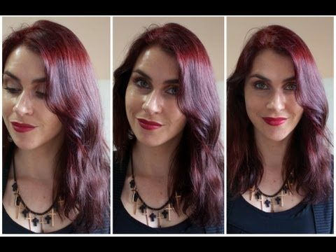 My New Hair Colour Intense Red By Garnier Olia YouTube - Hair colour youtube