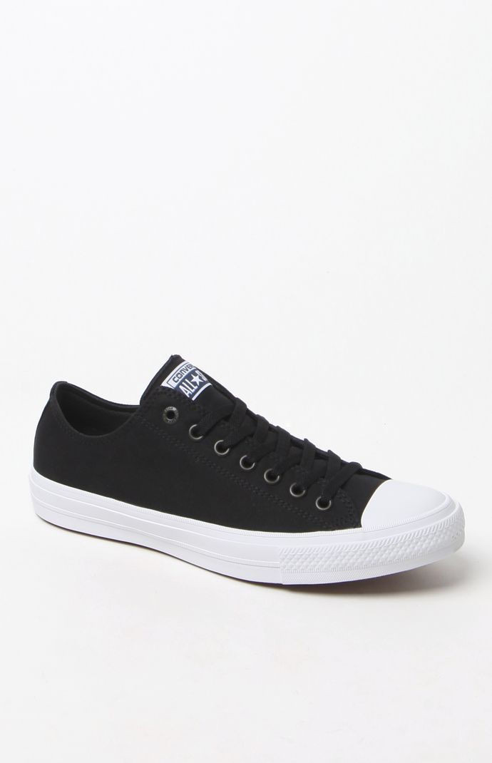 5bea607c3 Chuck Taylor All Star II Ox Black & White Shoes Converse Výbava, Tenisky  Converse,