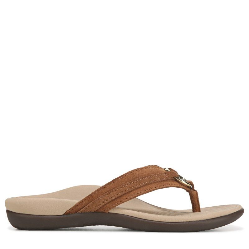 50a0001bccc57 Vionic Women's Tide Aloe Sandals (Toffee) in 2019 | Products ...