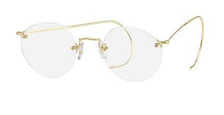 3fbd949b7c3e Savile Row High Joint Diaflex Rimless Eyeglasses