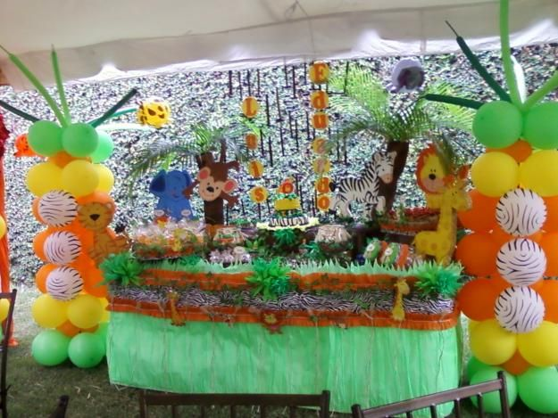 Decoraciones de fiestas infantiles de safaris imagui - Ideas decoracion fiestas ...