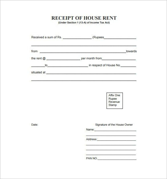 rent receipt template 9 free word excel pdf format download templatenet sampleresume rentreceipts